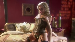 Blonde Flower Tucci gets her pussy fucked and fingered by a dude