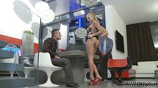 Beggar turned supplier shags hot girls!