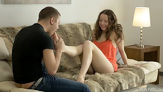 First-time anal training for diverting show one's age Kerry Louise