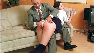 Classic hardcore ass punitive measures porn with the stepdaughter